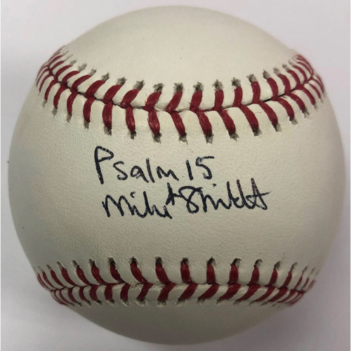 Photo of Cardinals Authentics: St. Louis Cardinals Mike Shildt Autographed Baseball