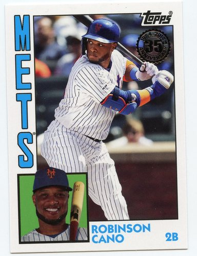 Photo of 2019 Topps Update '84 Topps #8442 Robinson Cano