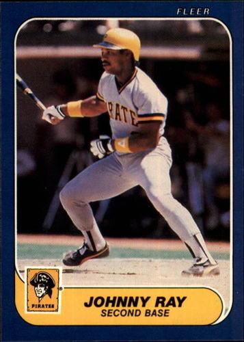 Photo of 1986 Fleer #617 Johnny Ray