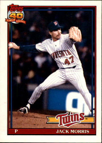 Photo of 1991 Topps Traded #82T Jack Morris