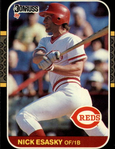 Photo of 1987 Donruss #166 Nick Esasky