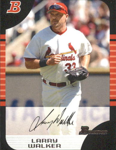 Photo of 2005 Bowman #114 Larry Walker
