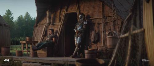 The Mandalorian and Cara Dune