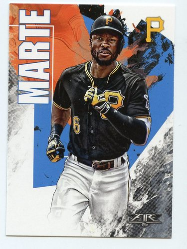 Photo of 2019 Topps Fire #163 Starling Marte