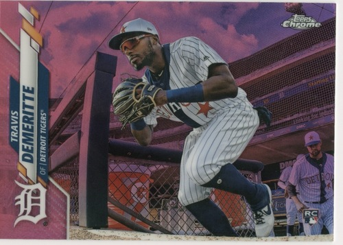 Photo of 2020 Topps Chrome Pink Refractors #26 Travis Demeritte