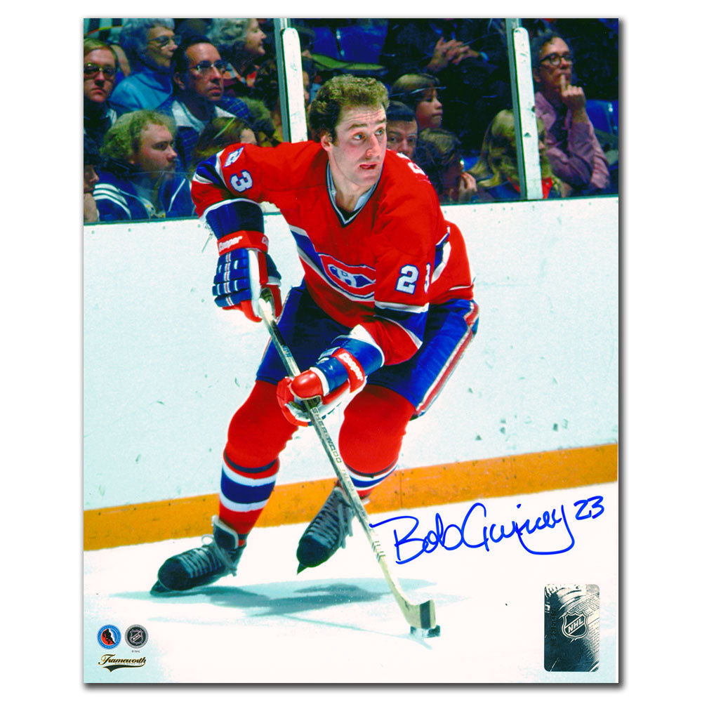Bob Gainey Montreal Canadiens BREAKOUT Autographed 8x10