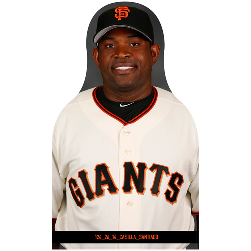 Photo of Giants Community Fund: Giants Santiago Casilla Cutout