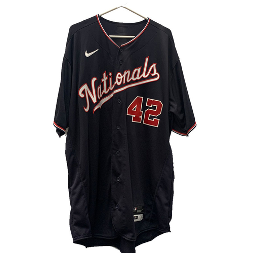 Photo of Austin Voth - Jackie Robinson Day Autographed Game Worn Jersey - Size 44