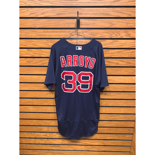 Photo of Christian Arroyo Team Issued 2020 Nike Road Alternate Jersey