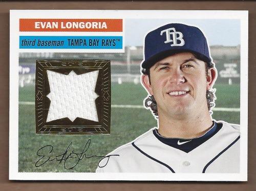 Photo of 2012 Topps Archives Relics #EL Evan Longoria