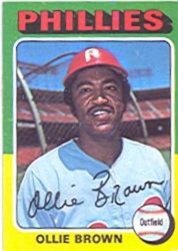 Photo of 1975 Topps #596 Ollie Brown