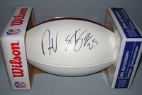 CHARGERS - DARRELL STUCKEY SIGNED PANEL BALL
