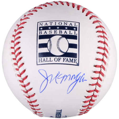 Photo of Joe Morgan Cincinnati Reds Autographed HOF Logo Baseball