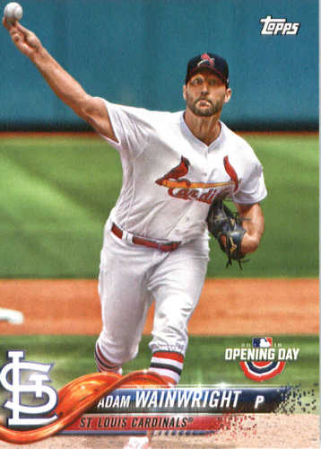 Photo of 2018 Topps Opening Day #94 Adam Wainwright