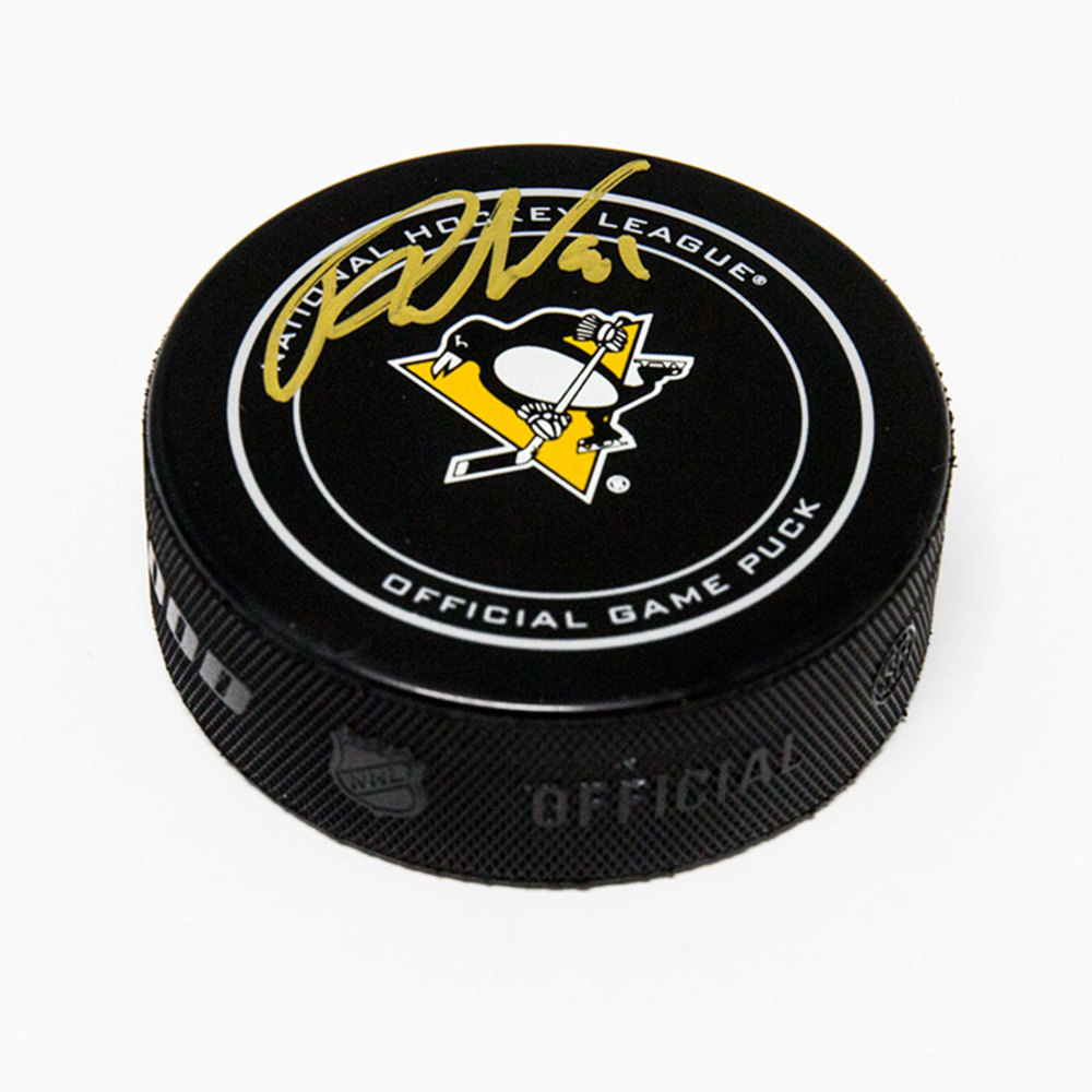 Phil Kessel Pittsburgh Penguins Autographed Official Game Hockey Puck