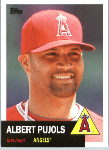 Photo of 2016 Topps Archives #1 Albert Pujols
