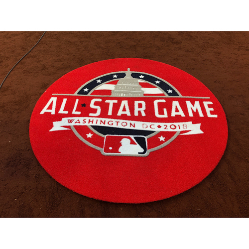 Photo of 2018 MLB All-Star Game - Game-Used On-Deck Circle - NL Side