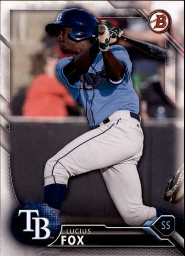 Photo of 2016 Bowman Draft #BD200 Lucius Fox