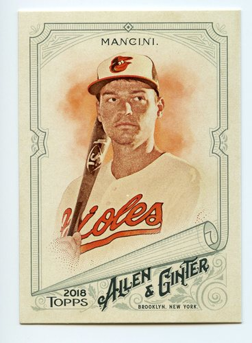 Photo of 2018 Topps Allen and Ginter #24 Trey Mancini