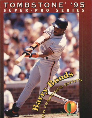 Photo of 1995 Tombstone Pizza #20 Barry Bonds