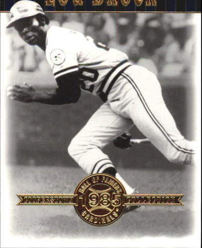 Photo of 2001 Upper Deck Hall of Famers #6 Lou Brock