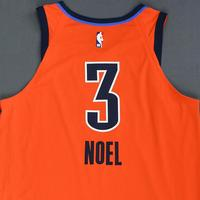 Nerlens Noel - Oklahoma City Thunder - Game-Worn Earned Statement Edition Jersey - 2018-19 Season