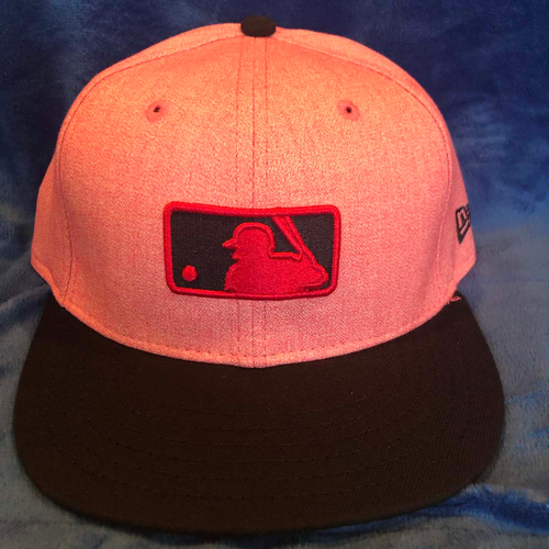 Photo of UMPS CARE AUCTION: MLB Specialty Mother's Day Umpire Base Cap, Pink, Size 7 1/8