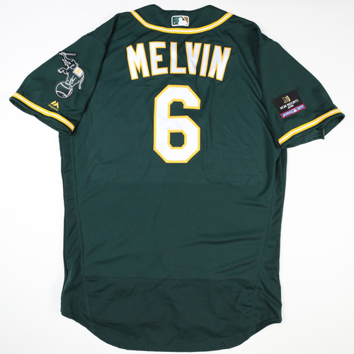 Photo of 2019 Japan Opening Day Series - Game Used Jersey - Bob Melvin, Oakland Athletics at Nippon Ham Fighters -3/17/2019