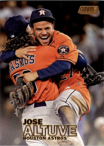 Photo of 2016 Stadium Club Gold #10 Jose Altuve