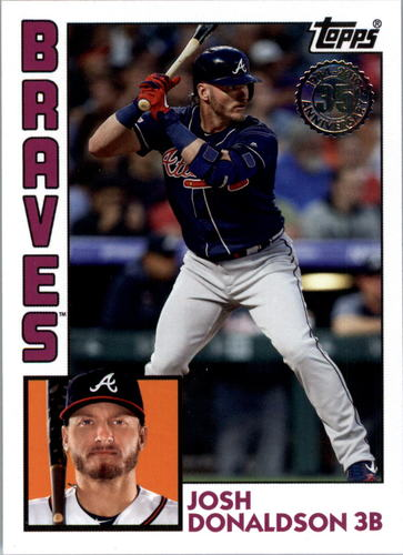 Photo of 2019 Topps Update '84 Topps #8443 Josh Donaldson