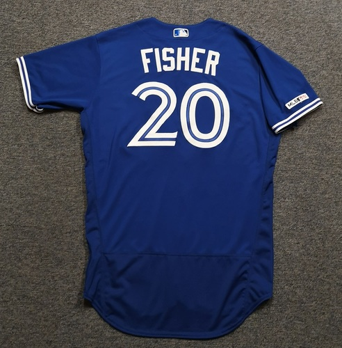 Photo of Authenticated Team Issued 2019 Jersey - #20 Derek Fisher. Size 46.