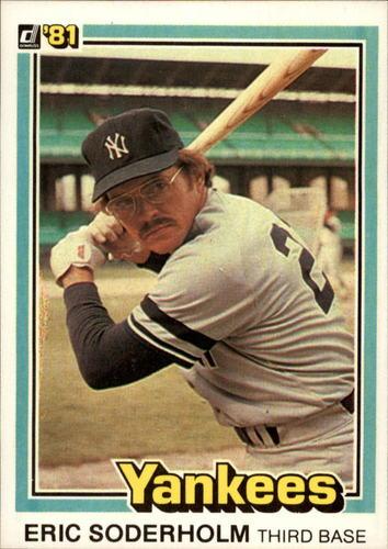 Photo of 1981 Donruss #106 Eric Soderholm