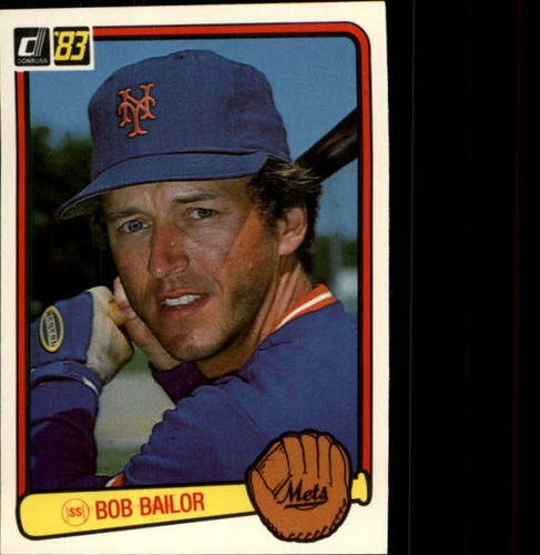 Photo of 1983 Donruss #506 Bob Bailor