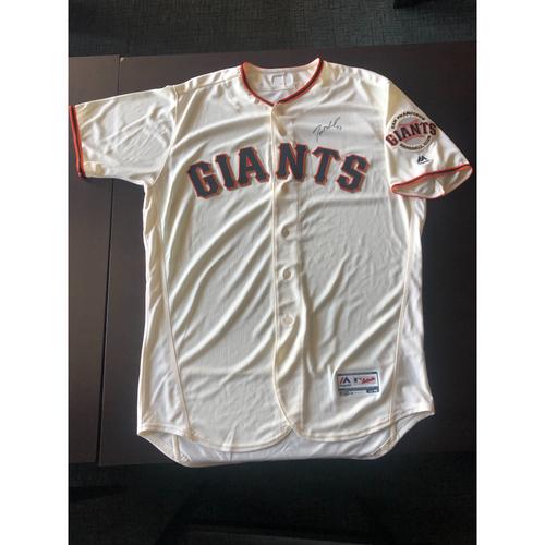 Giants Community Fund: Dereck Rodriguez Autographed Jersey