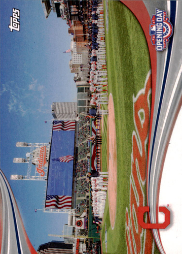 Photo of 2017 Topps Opening Day Opening Day #ODB14 Cleveland Indians