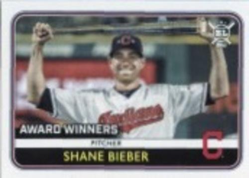 Photo of 2020 Topps Big League #273 Shane Bieber AW