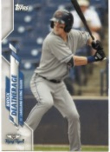 Photo of 2020 Topps Pro Debut #PD15 Brock Deatherage