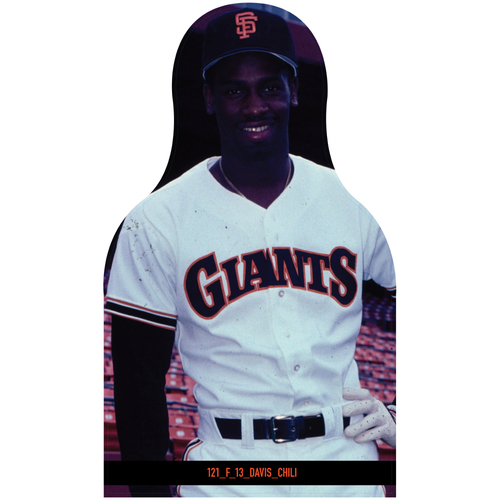 Photo of Giants Community Fund: Giants Chili Davis Cutout