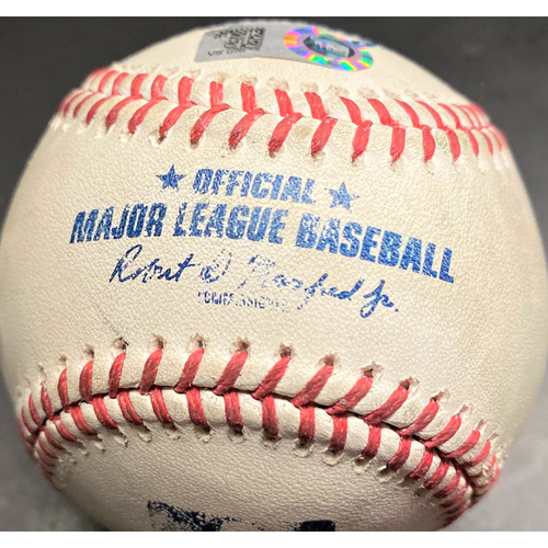 Photo of Game-Used Baseball: Jeimer Candelario Detroit Tigers 2-Run Home Run (MLB AUTHENTICATED)