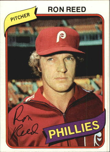 Photo of 1980 Topps #609 Ron Reed