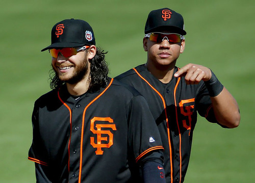 hot sale online 05368 7059a MLB Auctions | SAN FRANCISCO GIANTS BRANDON CRAWFORD GAME ...