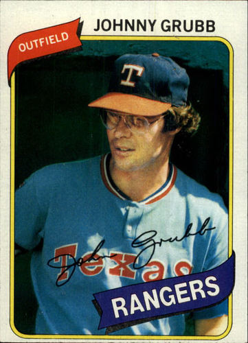Photo of 1980 Topps #313 Johnny Grubb