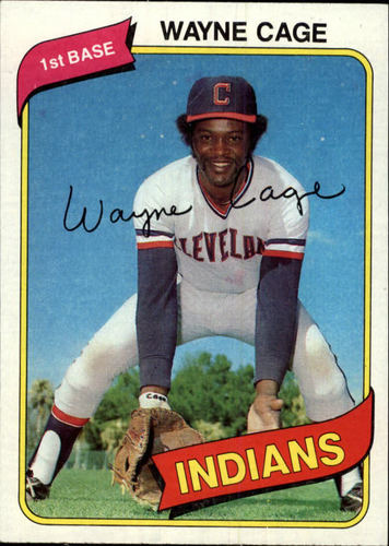 Photo of 1980 Topps #208 Wayne Cage