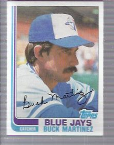 Photo of 1982 Topps #314 Buck Martinez