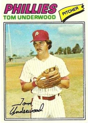 Photo of 1977 Topps #217 Tom Underwood