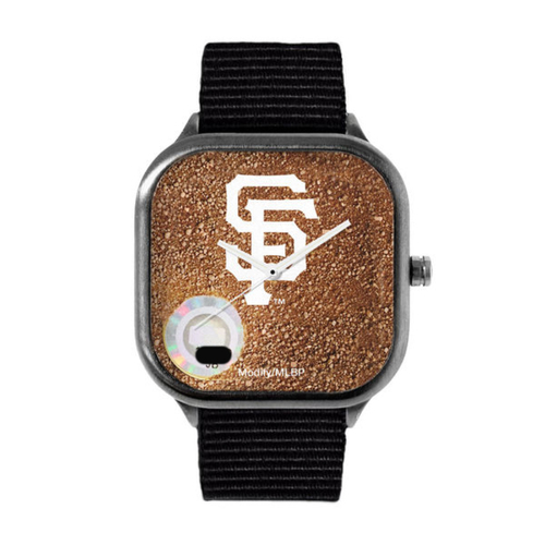 Photo of San Francisco Giants - Game-Used Dirt Watch - Nylon Strap