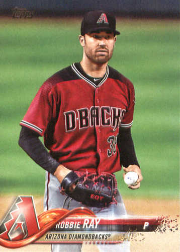 Photo of 2018 Topps #17 Robbie Ray