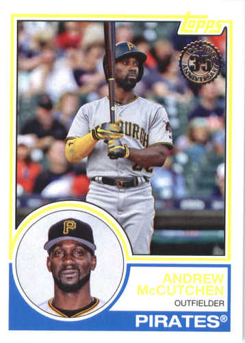Photo of 2018 Topps '83 Topps #833 Andrew McCutchen
