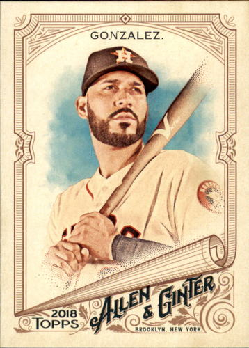 Photo of 2018 Topps Allen and Ginter #26 Marwin Gonzalez