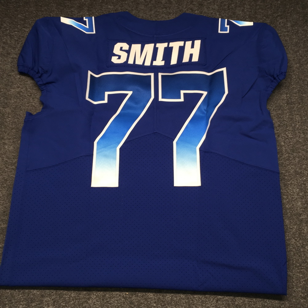 NFL - Cowboys Tyron Smith 2018 game issued NFC Pro Bowl jersey - size 50